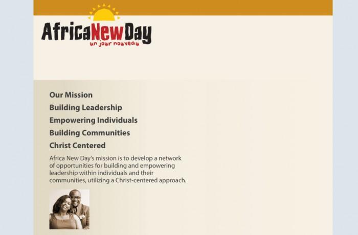 Africa New Day – Un Jour Nouveau
