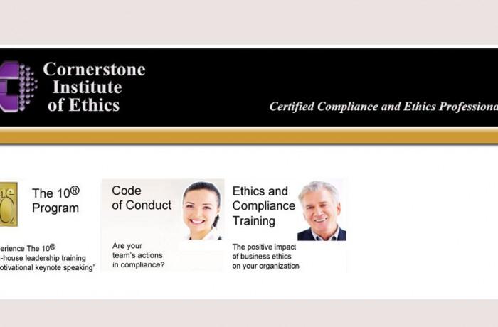Cornerstone Institute of Ethics