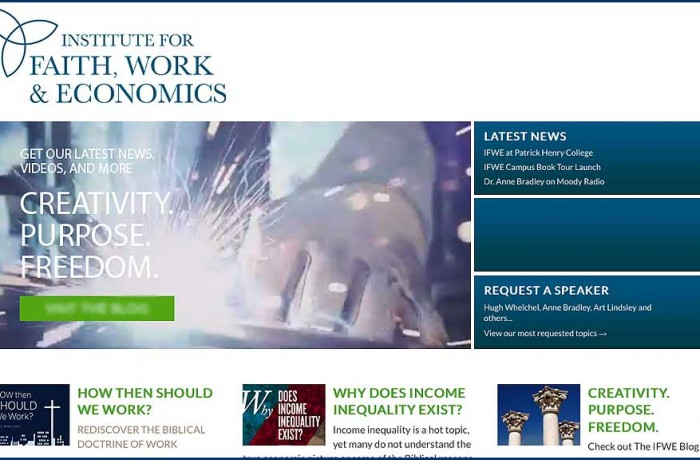 The Institute for Faith Work and Economics