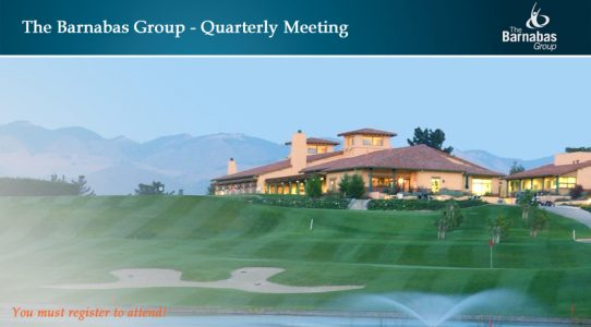 The Barnabas Group Quarterly Summit – November 2017