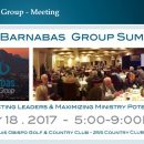 The Barnabas Group – May 18th